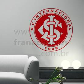 Adesivo Decorativo - Escudo do Internacional