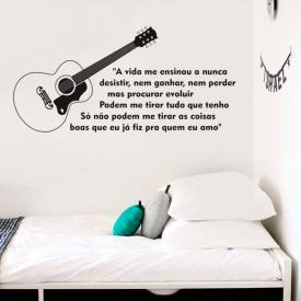 Adesivo Musica Frases Charlie Brown Jr.