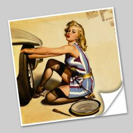 Azulejo Unitário Pin-up 177