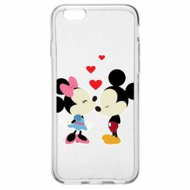 Capinha para Celular Mickey e Minnie Love