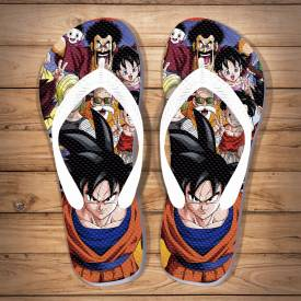 Chinelo Criativo Dragon Ball Turma