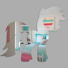 Espelho Decorativo My Little Poney