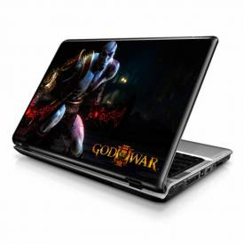 Adesivo Skin para Notebook / Netbook games god of war 1