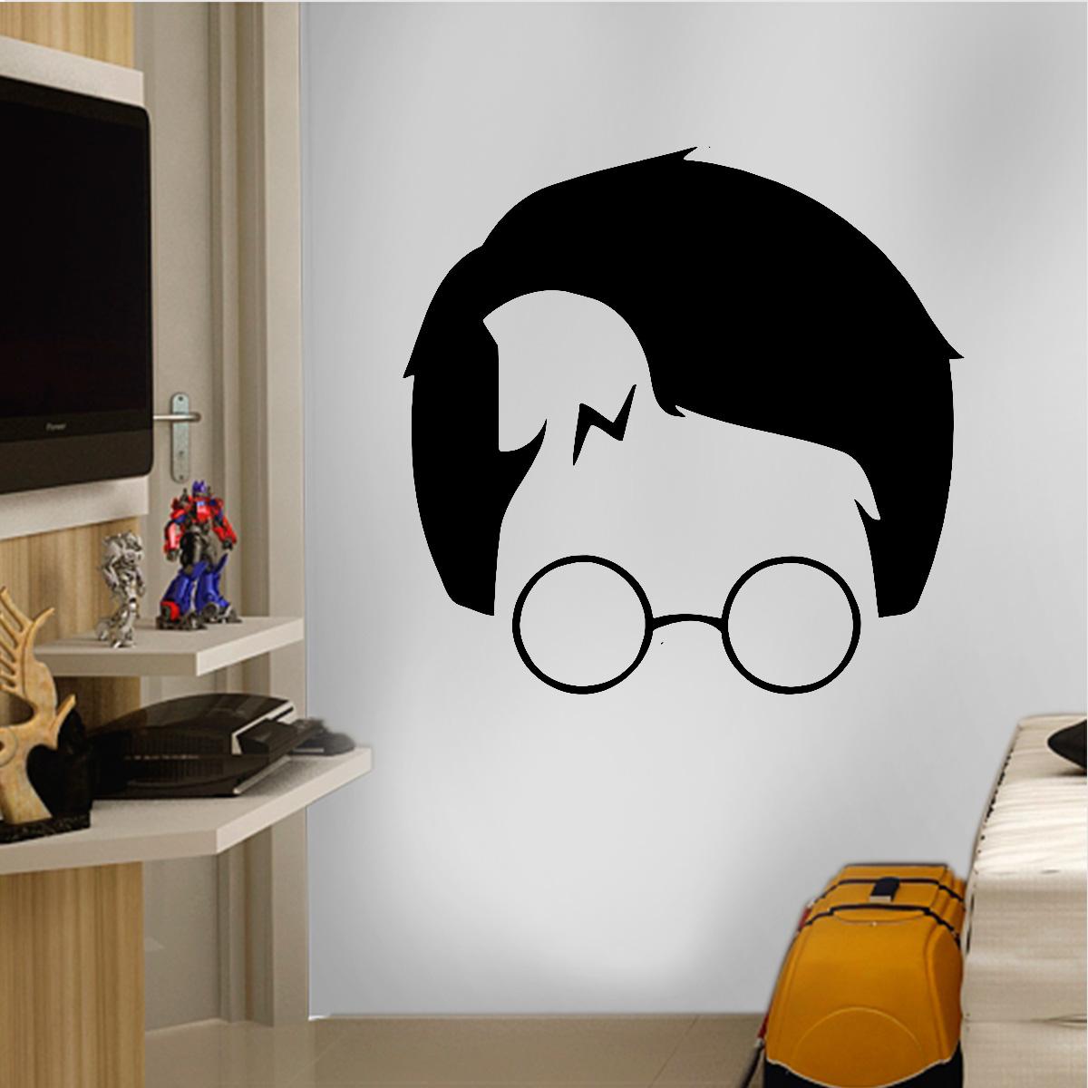 Aparador Estreito Branco ~ Adesivo de Parede Filmes Harry Potter 6