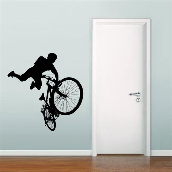 f95810cd7 Adesivo de Parede Esporte Ciclismo - G 100x100cm - MadeiraMadeira